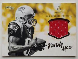 2020 Panini Luminance Randy Moss Vintage Jersey Card