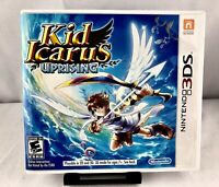 Kid Icarus Uprising (Nintendo 3DS, 2012) Complete with all Manual, Cards, Insert
