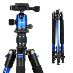 ZOMEi Q555 Pro Travel Tripod Monopod Stand w/ Ball head Portable For DSLR Camera
