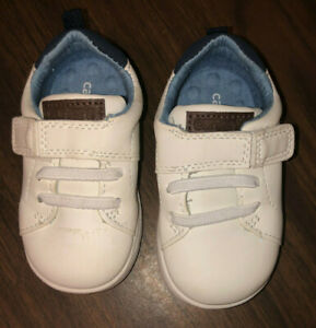 Carter's Toddler Boy Shoes Size 5 White