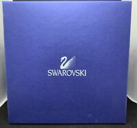 Swarovski Crystal Large Waterlily Candleholder 119747 NEW in Box w/ Certificate