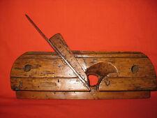 """Antique 18th Century Rare Moulding Carpenter Plane """" museum piece """""""