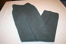 Swiss Wool Military Pants Trousers 29 x 30 Vtg suspenders