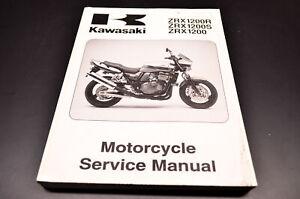OEM Kawasaki 99924-1266-01 Service Manual ZR1200A