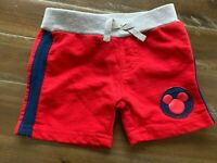Disney Baby Boys Shorts Size 0-3 Months Cloth Drawstring Mickey Mouse Clothing