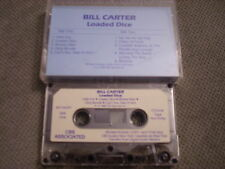 VERY RARE PROMO Bill Carter CASSETTE TAPE Loaded Dice STEVIE RAY VAUGHAN Jimmie