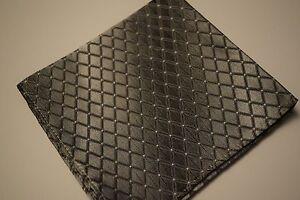 Men Pocket Square Handkerchief Grey Black Green Purple Blue White Multi Pack NEW