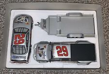 New 1/24 #29 KEVIN HARVICK GOODWRENCH Stock car, Crew Cab, & Open Trailer