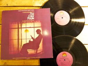 QUINCY JONES THE COLOR PURPLE BOF 2 LP 33T VINYLE EX COVER EX ORIGINAL 1986