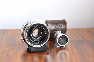 NIKON W-Nikkor-C 3.5cm (35mm)   f/2.5  Nikon S rangefinder Lens  w/ 35mm Finder