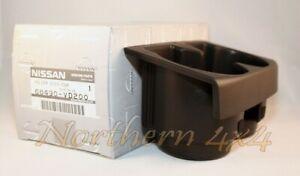 Nissan Patrol GU Cup Holder Black Genuine 68430-VD200
