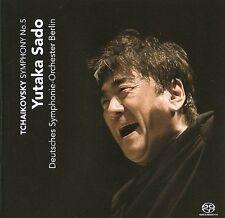 YUTAKA SADO Tchaikovsky Symphony No. 5 CD NEW Deutsches Symphonie Orchester