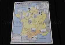 C758 carte scolaire histoire France Gothique Débuts Guerre Cent ans Rossignol