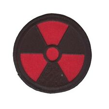 RADIATION PATCH RED ON BLACK