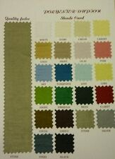 """POLYESTER DUPION FABRIC 54"""" WIDE 22 COLOURS SHADE CARD FOR £3.50"""
