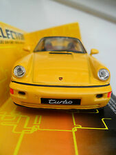 PORSCHE 964 TURBO DIECAST CAR WELLY 1/38 BOXED OPENING DOORS PULL BACK AND GO