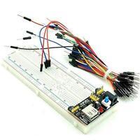 102 Breadboard 830 Point Solderless Prototype PCB Board Kit For H2E5 Z3F1