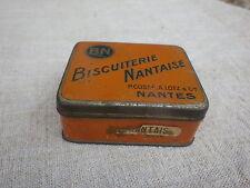 Petite boite litho BN Biscuiterie Nantaise Cossé Lotz & Cie à Nantes
