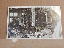 Postcard Newton Heath Railway Carriage Works Real photo Social history unpo..XC3