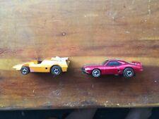 70's Hot Wheels Redline Sizzler Orange Anteater & Firebird Trans Am Red