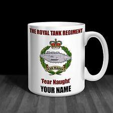 The Royal Tank Regiment RTR Personalised Ceramic Mug Army Gift