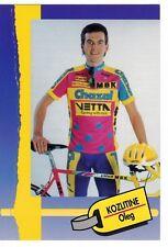 CYCLISME carte cycliste KOZLITINE OLEG équipe CHAZAL 1993