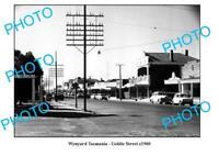 OLD 8x6 PHOTO FEATURING WYNYARD TASMANIA VIEW OF GOLDIE STREET c1960
