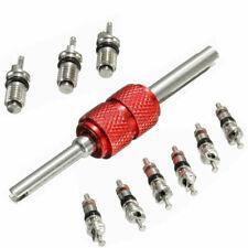 9Pcs Automobil-Klimaanlage Ventil-Core+1Pcs Entferner-Werkzeug für A / C-System