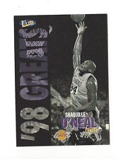 1997-98 ULTRA GOLD MEDALLION SHAQUILLE O'NEAL #265G LOS ANGELES LAKERS