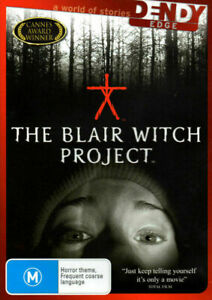 The Blair Witch Project - Brand New & Sealed - Region 4 - DVD