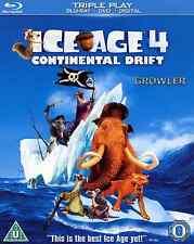 ICE AGE 4 - BLU-RAY + DVD - FILM PIRATES SNOW ANIMALS MUSIC DANCE CHILDREN MOVIE