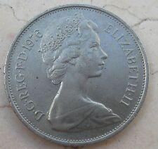 10 New Pence Elisabetta II DG REG. FD 1976 - n  1032