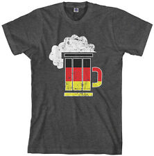Threadrock Men's German Beer Mug T-Shirt Berlin National Flag