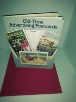 OLD TIME ADVERTISING POSTCARDS 1989 24 FULL COLOR CARDS   BRaND NEW.