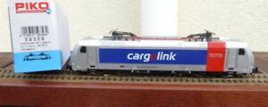 Piko 59358 Electric Locomotive Series 185.2 DB Ag Cargolink Railpool, AC Digital
