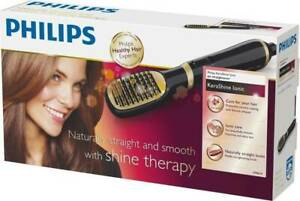 New Philips Hp8659-Kerashine Ionic Hair Straightner Smooth With Shine Therapy