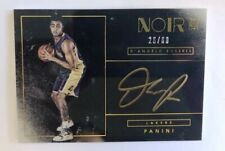 2015-2016 D'Angelo Russell Panini Noir Gold Auto Autograph RC Rookie /60 TWOLVES