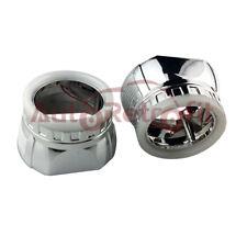 White Halo Angel Eye Shrouds/Bezels/Masks for 2.5'' Projector Lens, LED Halos