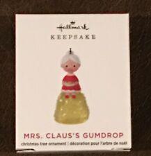 "2020   MRS. CLAUS'S GUMDROP   Hallmark  ""MINI""  Ornament  LIMITED EDITION"