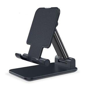 Adjustable Phone Tablet Desktop Stand Desk Foldable Holder Mount For iPhone iPad