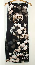 Monsoon dress Size 8 Alberta silhouette floral occasion lined £99 Brand New