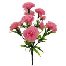 Artificial Silk Summer Mix Bush/Bunches/Bouquet/Spray/Stems Memorial Flowers