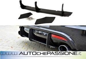 Estrattore sotto paraurti posteriore R con splitter Scirocco 2008>2014 racing