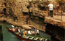 BOAT RIDE AUSABLE CHASM TABLE ROCK NEW YORK NY POSTCARD