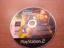 Sony PlayStation 2 PS2 Disc Only Tested WWE Smackdown vs Raw 2009 ECW Ships Fast