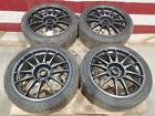 Vw Audi 18x8 Et35 Powdercoated Oz Racing Superleggera Wheels 2254018 Tires