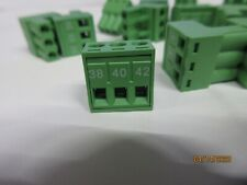 16pc Dinkle Terminal Block Plug 2esdv 03p 3p 15a 300v Pitch5mm
