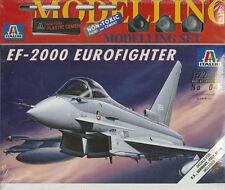 EF-2000 Eurofighter - Italeri 042, M 1:72 inkl. Farben, Pinsel, Kleber, Decals