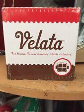 Velata Fondue Square Sampling Dish