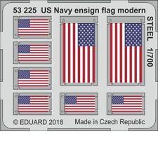 Eduard Models 1/700 US Navy Ensign Flag Modern STEEL Detail-up set (PE)